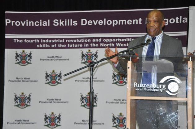 Mokgoro launches North West Human Resource Development Council