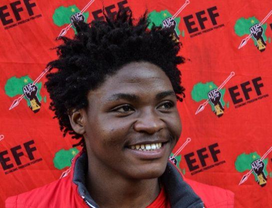 EFF Student Command national spokesperson Mangaliso Sambo. Picture: Twitter