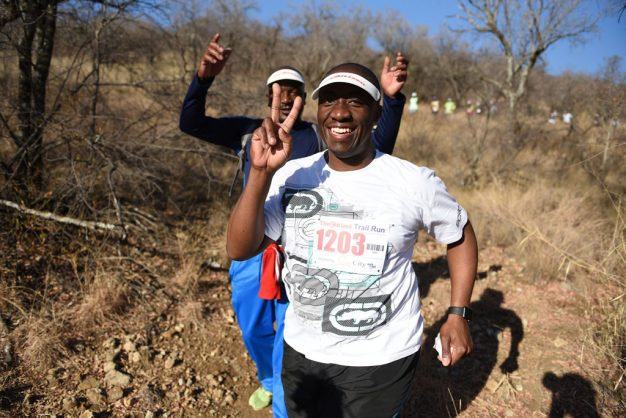 Runners participate in The Citizen Trail Run hosted by Sun City, 15 September 2018, at the Sun City Resort. Runners took part in either the 21km, 10km or 6km races surrounded by the beauty of the Sun City Resort and Gary Player Golf Course. Picture: Michel Bega