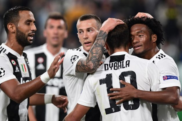 Dybala, Cuadrado fire Juventus back top against 10-man Brescia