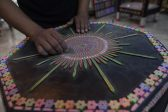 Pakistani artist goes for record with swing made of pencils