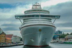 Cruise ship faces hefty fine for pollution