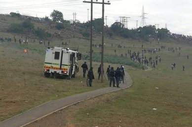 Violent Stutterheim protests amid accusations of jobs for sexual favours