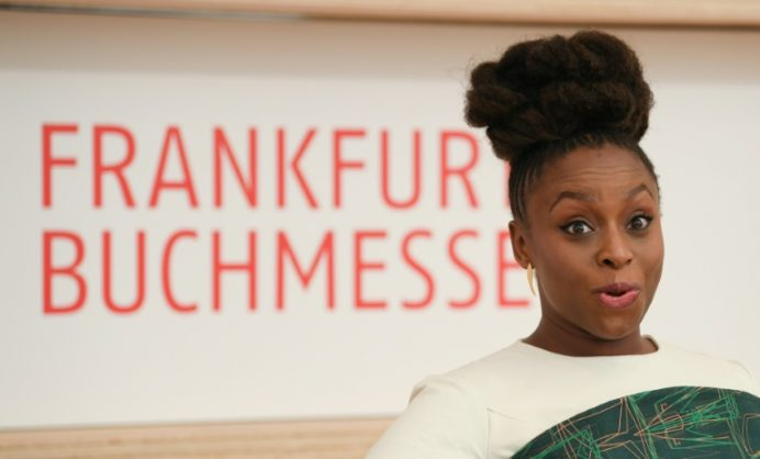 Nigerian writer Chimamanda Ngozi Adichie's essay 'We Should All be Feminists' had made a major impact when it became a Ted talk hit in 2012. dpa/AFP/Arne Dedert