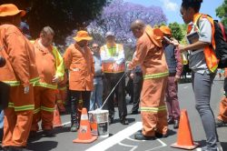 Joburg Road Agency to upgrade road markings for Transport Month