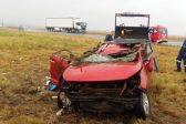 Four people injured in Free State N1 car crash