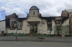 Protesters destroy municipal buildings in Stutterheim, Eastern Cape