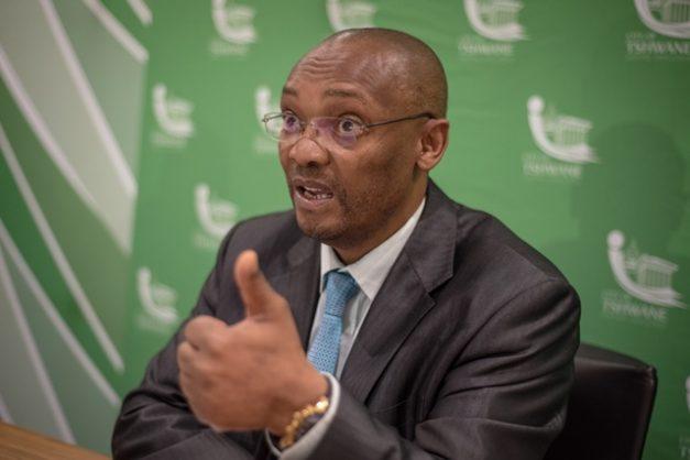 City of Tshwane and city manager Moeketsi Mosola agree to part ways