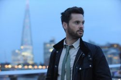 Tom Riley spills on role in new crime series 'Dark Heart'