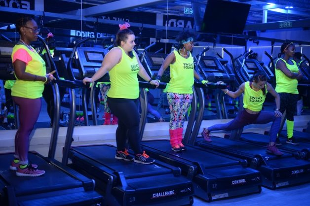 The Women's Health Secret Sweat Sessions with Powerade at Sweat 1000, Photo: Gallo Images