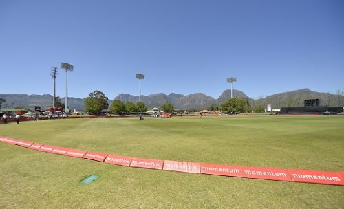 A general view during the 3rd Momentum ODI match between South Africa and Zimbabwe at Eurolux Boland Park on October 06, 2018 in Paarl, South Africa. (Photo by Ashley Vlotman/Gallo Images)