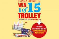 WIN 1 OF 15 TROLLEY DASHES AND MORE!
