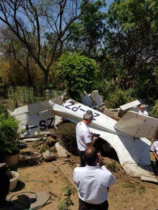 Plane Crashes Into Midrand House Killing Two The Citizen