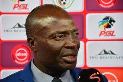 Baroka coach slams referee after Sundowns loss