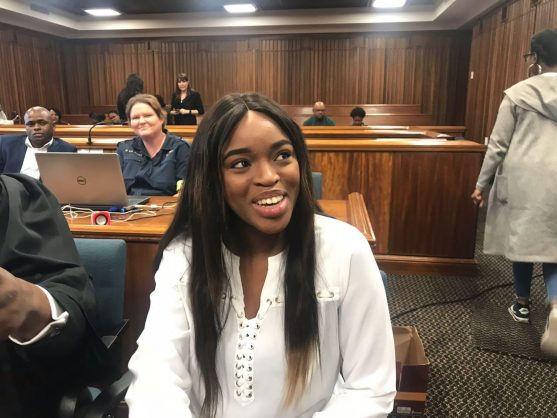 Cheryl Zondi, who testified in the Port Elizabeth High Court about her alleged rape by Nigerian pastor Timothy Omotoso, 17 October 2018. Picture: ANA