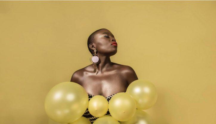 Zoe Modiga sure to paint Afro Bru yellow