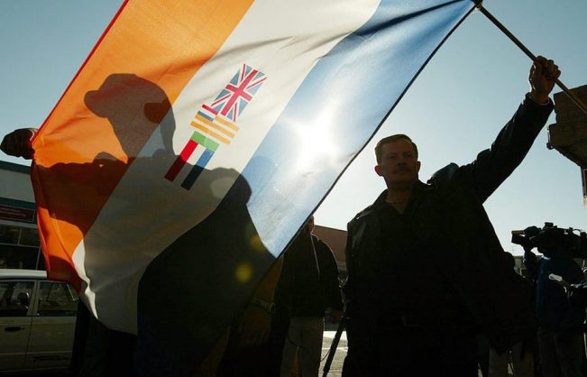 South Africa's far right never had a big support base, even under apartheid. Kim Ludbrook/EPA