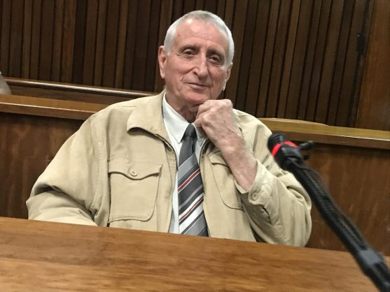 Former apartheid police officer Joao Rodrigues. Image: Twitter/@SACP1921