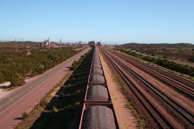 The longest train in the world - Transnet's 4km-long,  375-wagon manganese train. Picture: Supplied