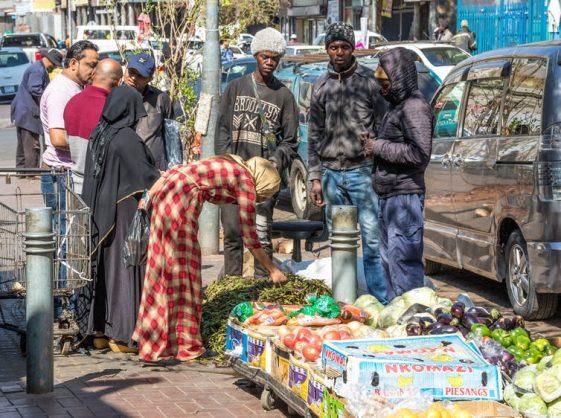 Informal trading in Fordsburg, Johannesburg. Shutterstock