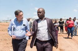 Tswhane RDP construction underway with mayoral mansion proceeds