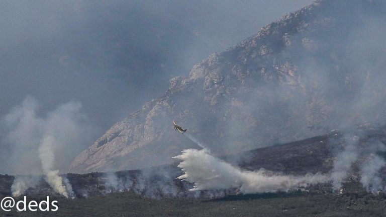 Unfavourable Weather Conditions Fuel Fires On Outeniqua
