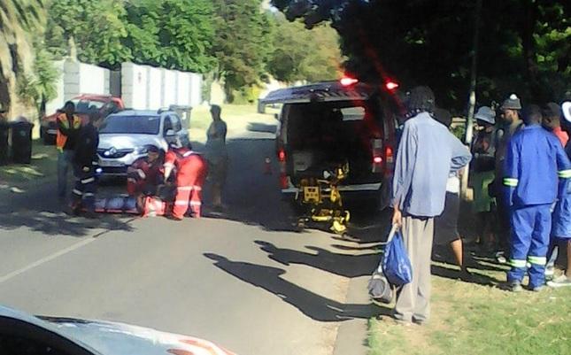 WATCH: Pedestrian mowed down by speeding taxi driver