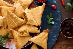 Recipe: Curry-style samoosas