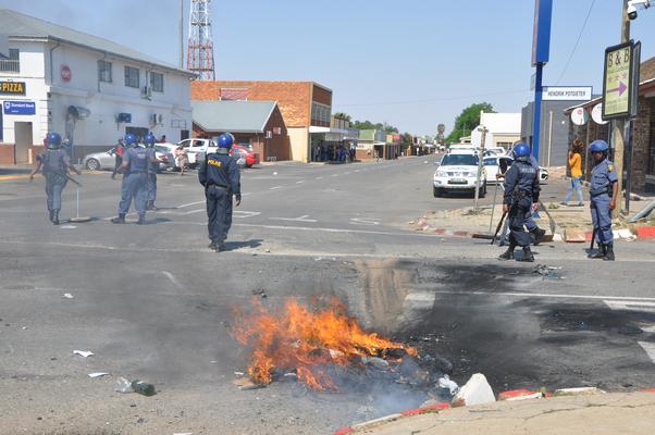 Ventersdorp protests. Picture: ANA