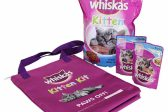 WIN a Whiskas kitten kit hamper!