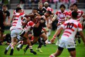 Second-string All Blacks crush Japan