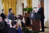 Trump loses his cool, attacks journalists at press conference