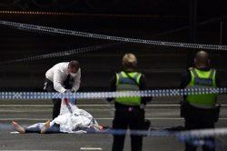 One dead, two hurt in Melbourne 'terror' attack