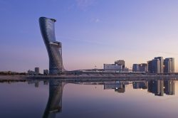 'Leaning Tower of Abu Dhabi' hotel opens