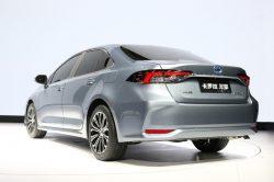 Next generation Toyota corolla sedan revealed