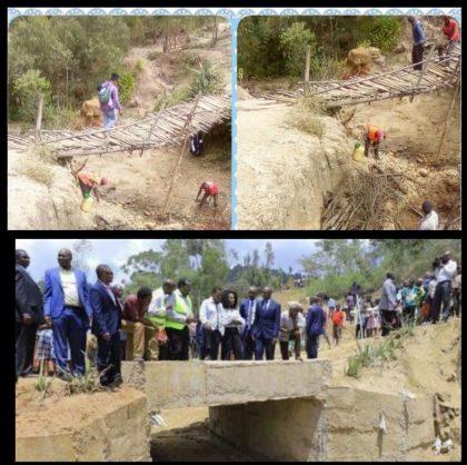 Bridge in Kenya. Picture: Twitter