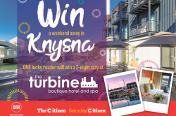 WIN A WEEKEND AWAY IN KYNSNA!