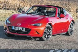 A zoom-zoom dinner with the Mazda MX5 Club