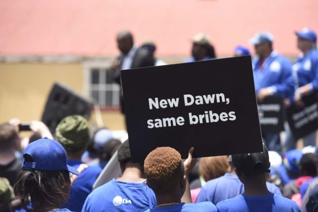 Pay back the Bosasa money, DA challenges ANC