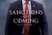 Trump tweets himself as star of own Iran sanctions movie