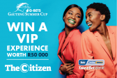 WIN A VIP EXPERIENCE WORTH R50 000!