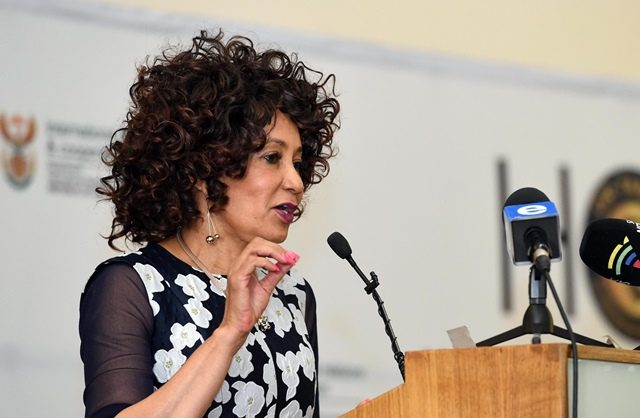 International Relations Minister Lindiwe Sisulu. Picture: Supplied by the Department of International Relations and Cooperation.