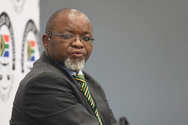 Gwede Mantashe is not dead