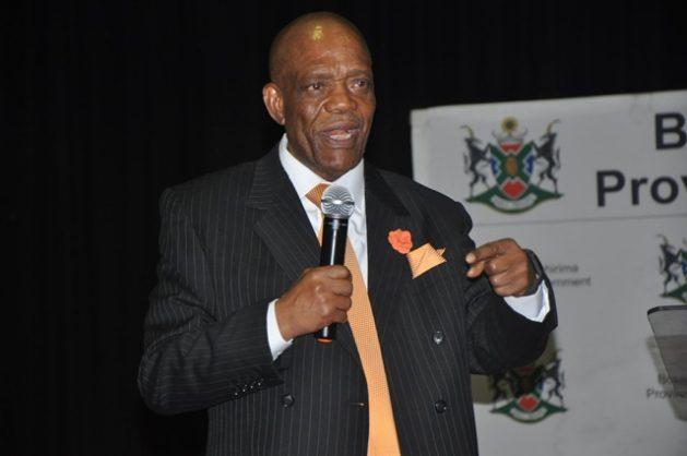North West Premier Job Mokgoro. Picture: ANA