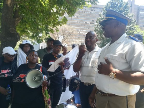 Joburgers have to pay to protest, react by protesting