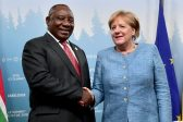 Trade and investment 'expected' as German president visits Ramaphosa