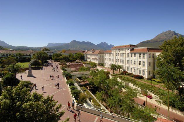 Stellenbosch University campus. PIC: Stellenbosch University.