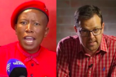 Corporate SA chair remembers how AfriForum made 'political outcast' Malema a 'hero'