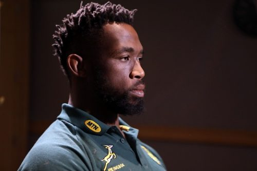 Siya Kolisi (captain) of South Africa during the South African national rugby team captains media conference at Pullman Paris Centre Hotel on November 09, 2018 in Paris, France. (Photo by Steve Haag/Gallo Images)