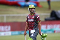 AB is trying way too hard in the Mzansi Super League